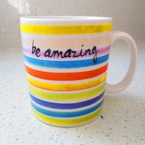 Indigo Be Amazing Rainbow Mug NEW